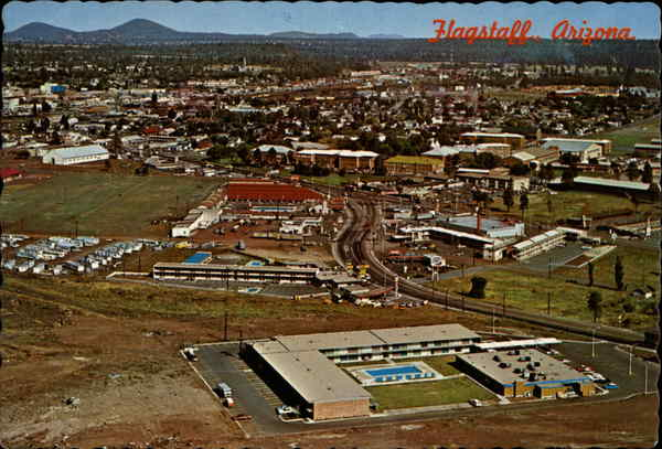 Aerial View of Flagstaff Arizona