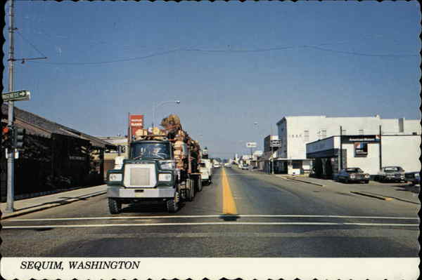 Street Scene Sequim Washington Jerry Morrison