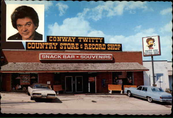 Conway Twitty Country Store & Record Shop Nashville Tennessee
