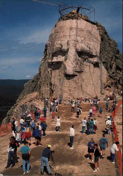 Crazy Horse Mountain Memorial Black Hills, SD