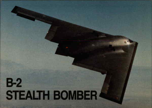 B-2 Stealth Bomber Aircraft