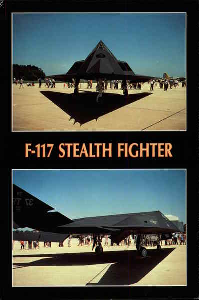 F-117 Stealth Fighter Aircraft