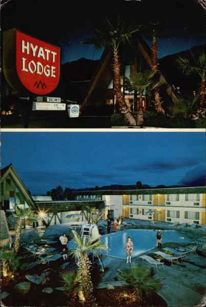 Hyatt Lodge Hotel Palm Springs California