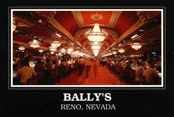 Ballys Casino Hotel Reno Nevada vintage postcard | eBay