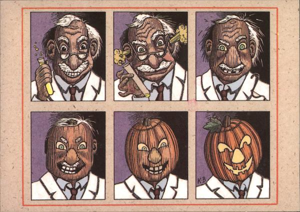 Happy Halloween ! - Mad Scientist
