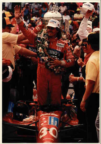 In the Winner's Circle - Arie Luyendyk Auto Racing