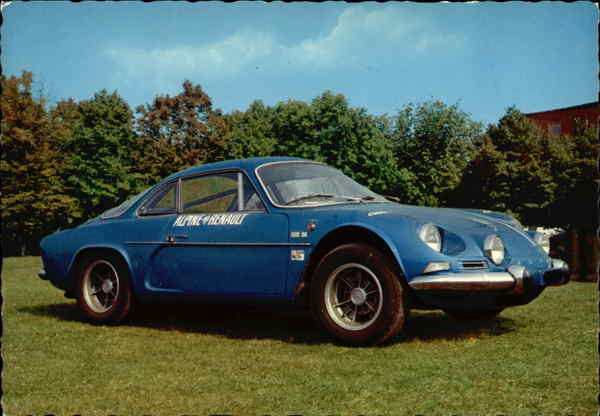 Alpine Renault A110 Cars