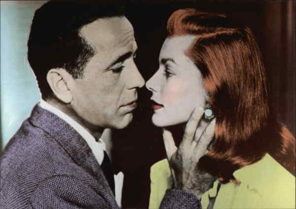 Humphrey Bogart and Lauren Bacall Actors