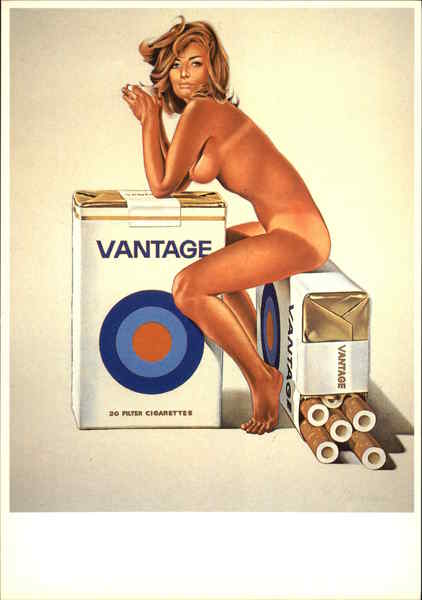 Ad Vantage by Mel Ramos, 1972 Pop Art