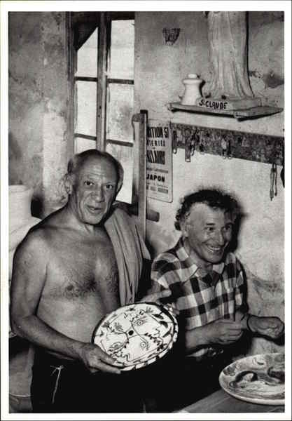 Picasso And Chagall 1951 Modern