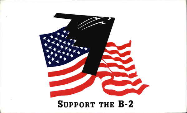 Support the B-2 Military