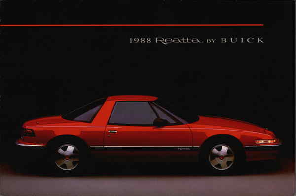 1988 Reatta by Buick Cars