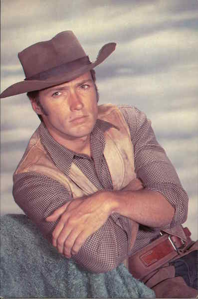 Clint Eastwood as Rowdy Yates Actors