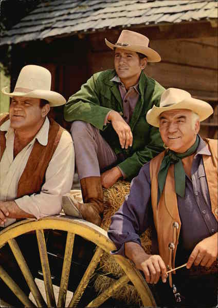 Bonanza; Ben Hoss and Little Joe Movie and Television Advertising