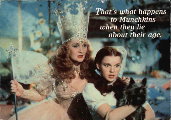Judy Garland and Billie Burke in the Wizard of Oz Actresses