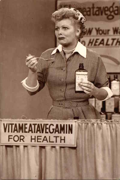 I Love Lucy - Lucy Does A TV Commercial Vitameatavegamin