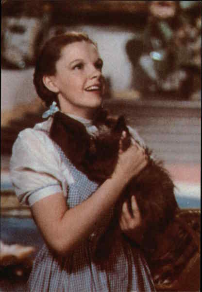 Judy Garland in The Wizard of Oz Actresses