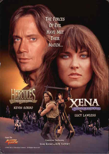 Hercules amp xena movie and television advertising