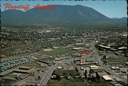 Aerial View of Flagstaff Postcard