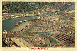 Ship Channell at Port of Houston