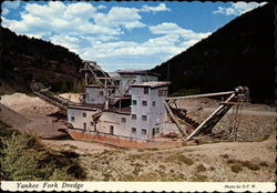 Yankee Fork Gold Dredge Postcard