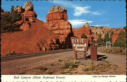 Entrance to Red Canyon - Dixie National Forest