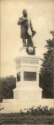 Reuter Monument, Lincoln Park Postcard