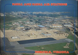 Naval and Naval Air Stations Postcard