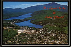 It's Great to be in Lake Placid Postcard