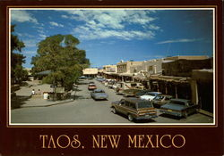 North Side of Taos Plaza