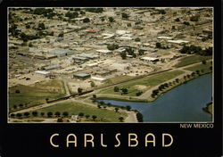 Aerial view of Carlsbad