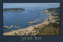 Aerial View of Neah Bay