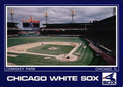 Comiskey Park; Chicago White Sox Postcard