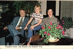 President Carter, Wife Rosalyn and Daughter Amy