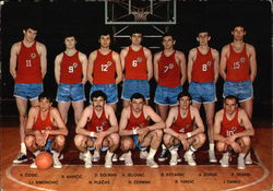 Slovenijales 1970 Basketball Team