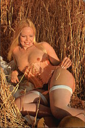 Nude Laying in Field