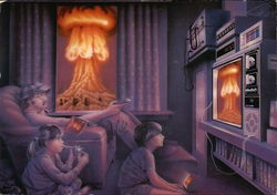 Watching World War III on PayTV by Carl Chaplin, 1956