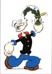 Popeye - I Eats Me Spinach