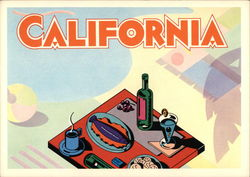 California by Clive Piercy, 1984
