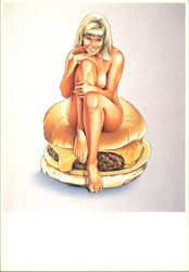 Barbi Burger by Mel Ramos, 1970