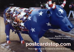 Hearst Magazines' We Read America Cow Postcard