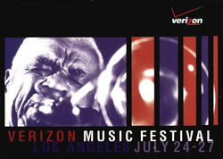 Verizon Music Festival Postcard
