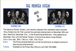 The Pointer Sisters - Back to Back