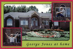 George Jones at home