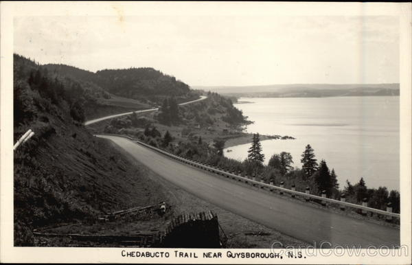 Chedabucto Trail Guysborough Canada Nova Scotia
