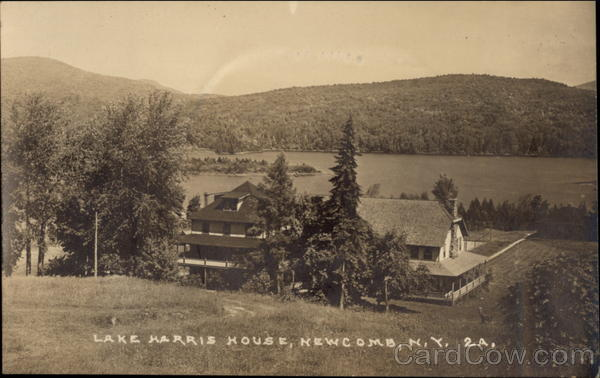 Lake Harris House Newcomb New York