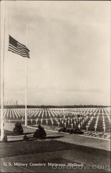 U.S. Military Cemetery Margraten Netherlands Benelux Countries