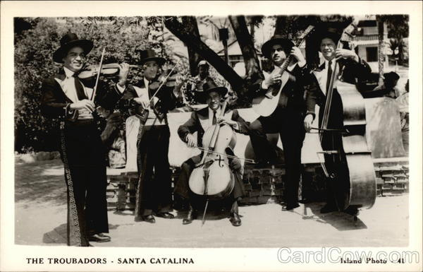 The Troubadors Santa Catalina Island California