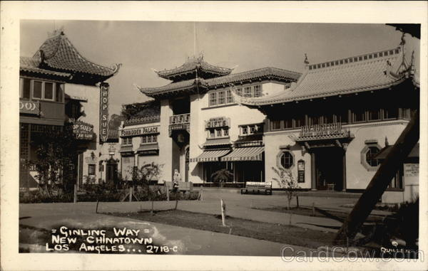Gin Ling Way, New Chinatown Los Angeles California