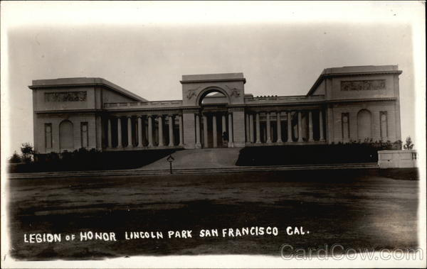 Legion of Honor, Lincoln Park San Francisco California